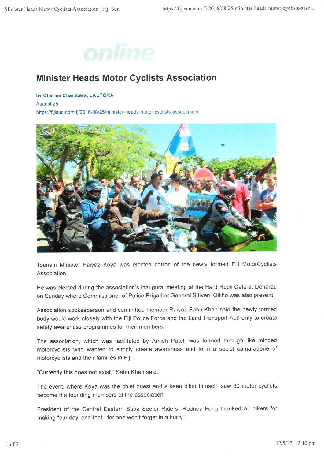 Fiji Times Golf Boost